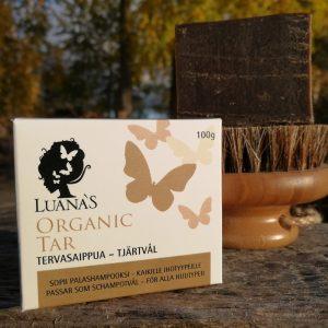 Tervasaippua kaikille ihotyypeille - Luanas Organic Products