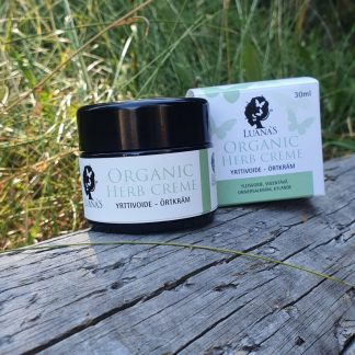 yrttivoide herb cream Luanas Organic