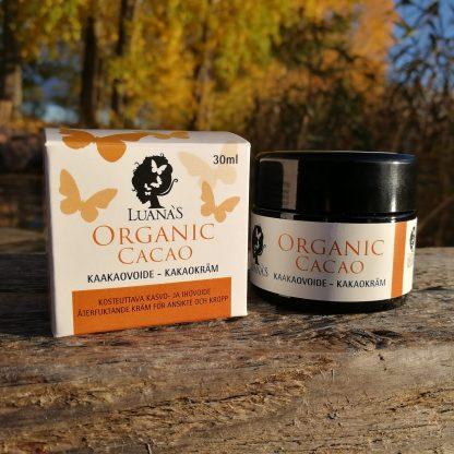 Kaakaovoide Luanas Organic Products