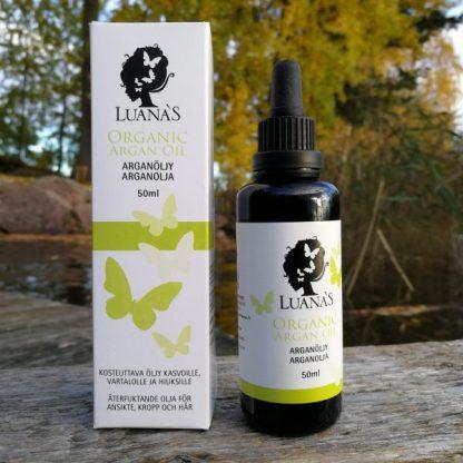 Arganöljy Luanas Organic Products