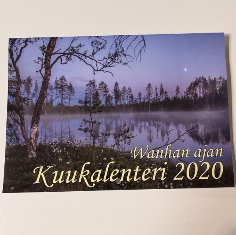 Luanas Organic kirjallisuus kuukalenteri 2020