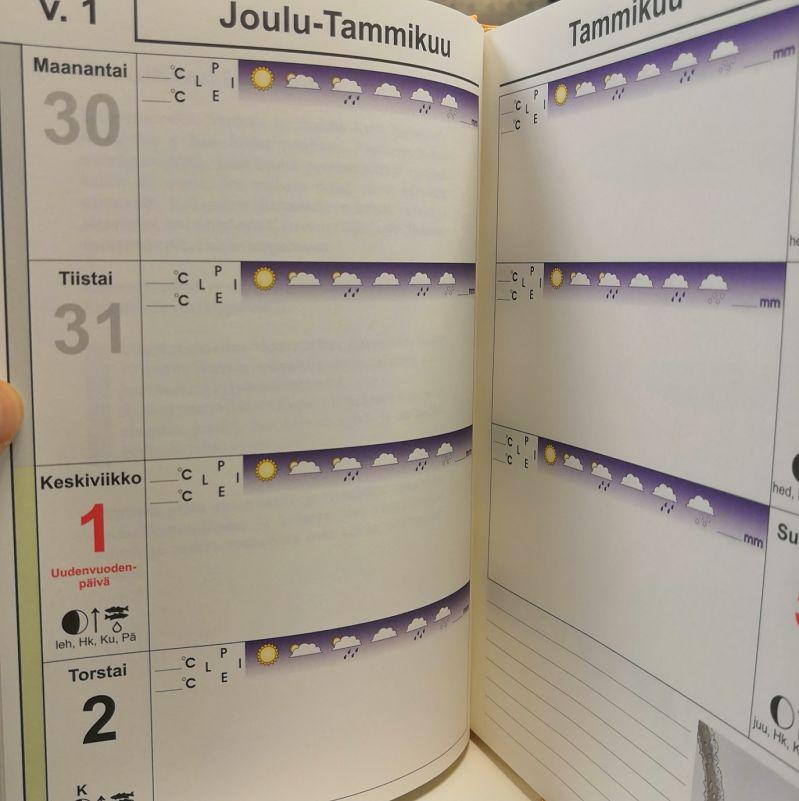 kalenteri vuodelle 2020 kuu
