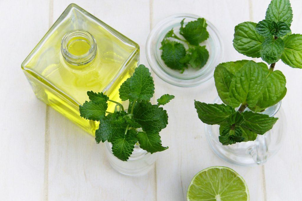 Piparminttu eteerinen luomuöljy kuuluu Luanas Organic tuotteiden raaka-aineisiin