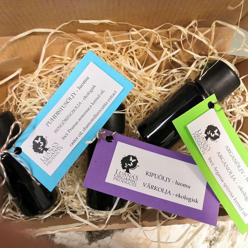 matkapakkaus Luanas Organic